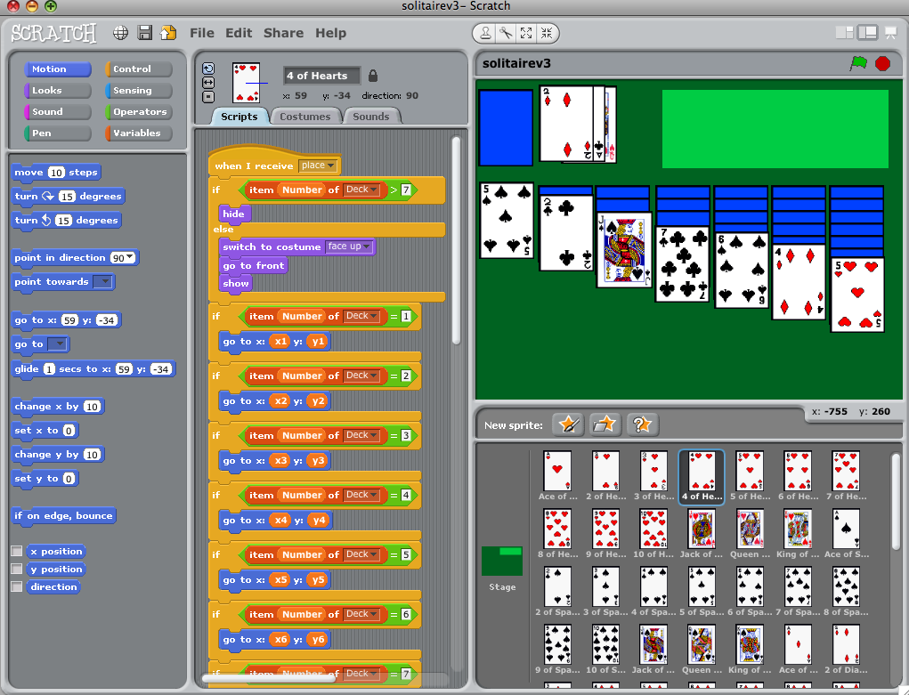 how to make a 3d game in scratch