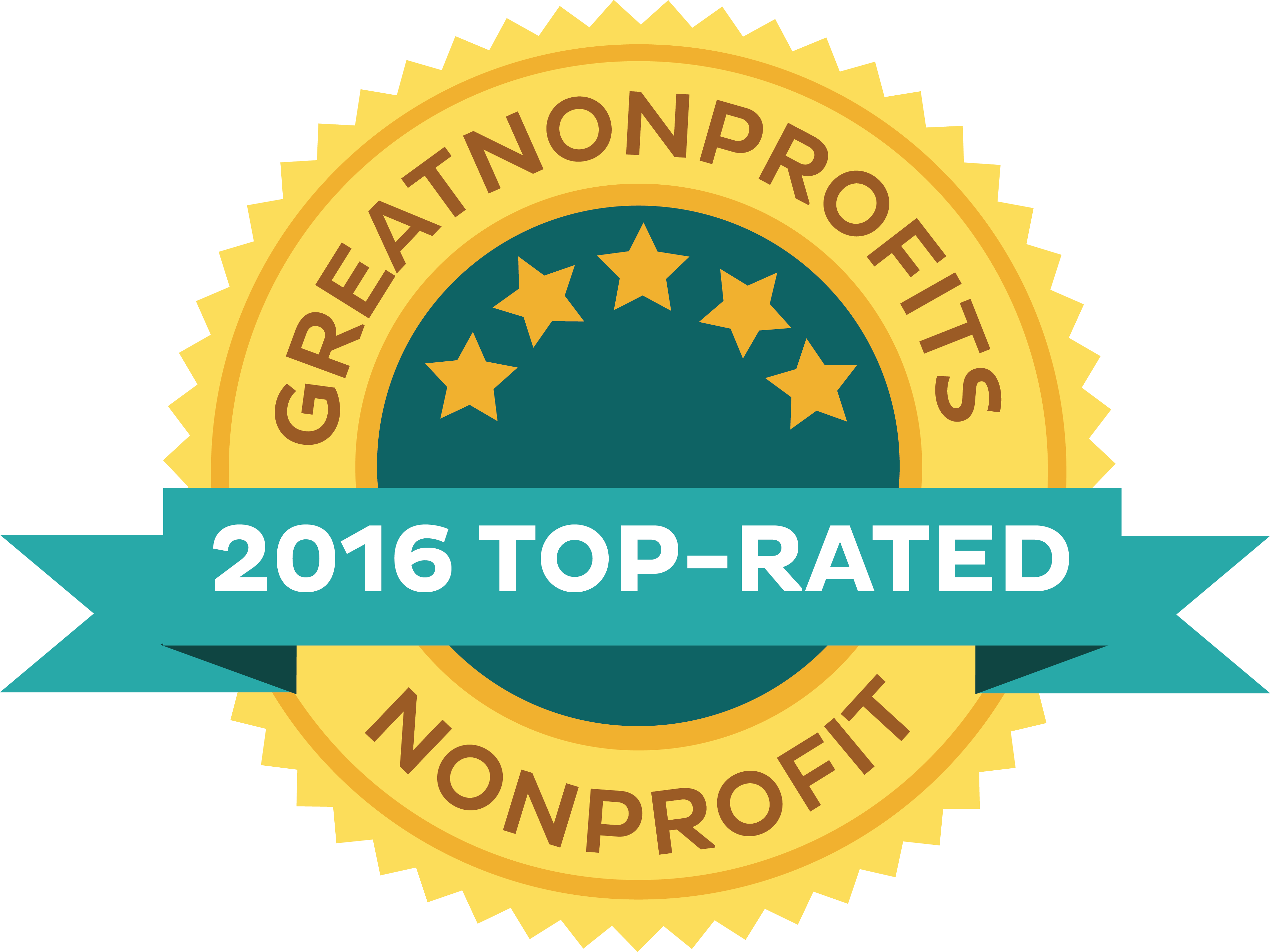 2016 Top-rated nonprofits and charities